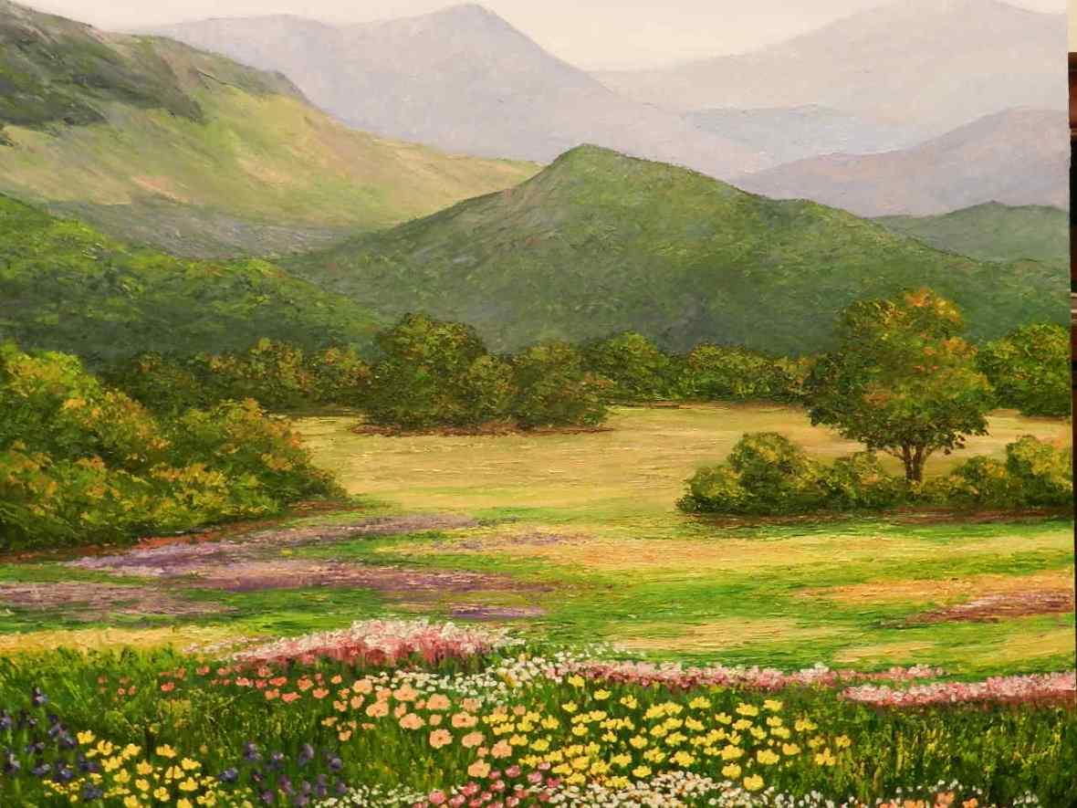 Quadre de Pepita Manzanares de la Natura i les valls