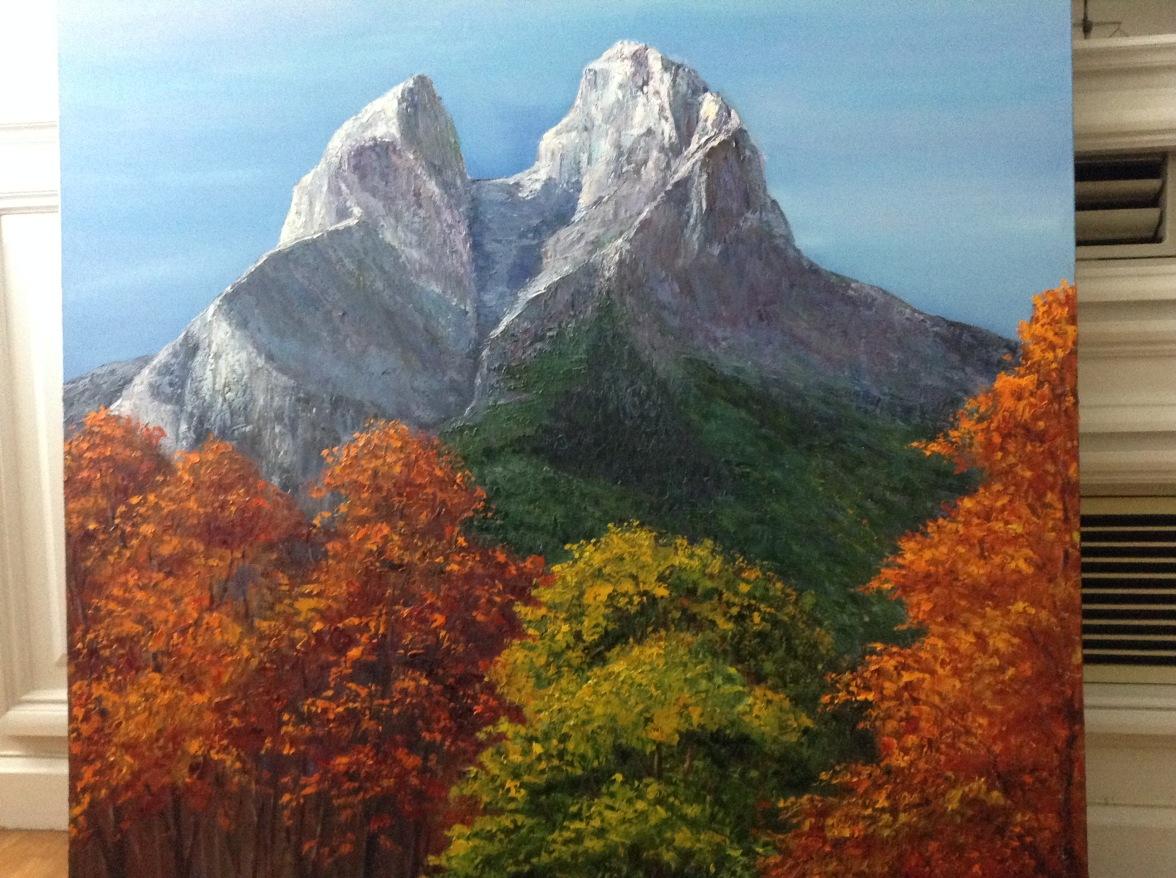 Pedraforca envoltat de natura