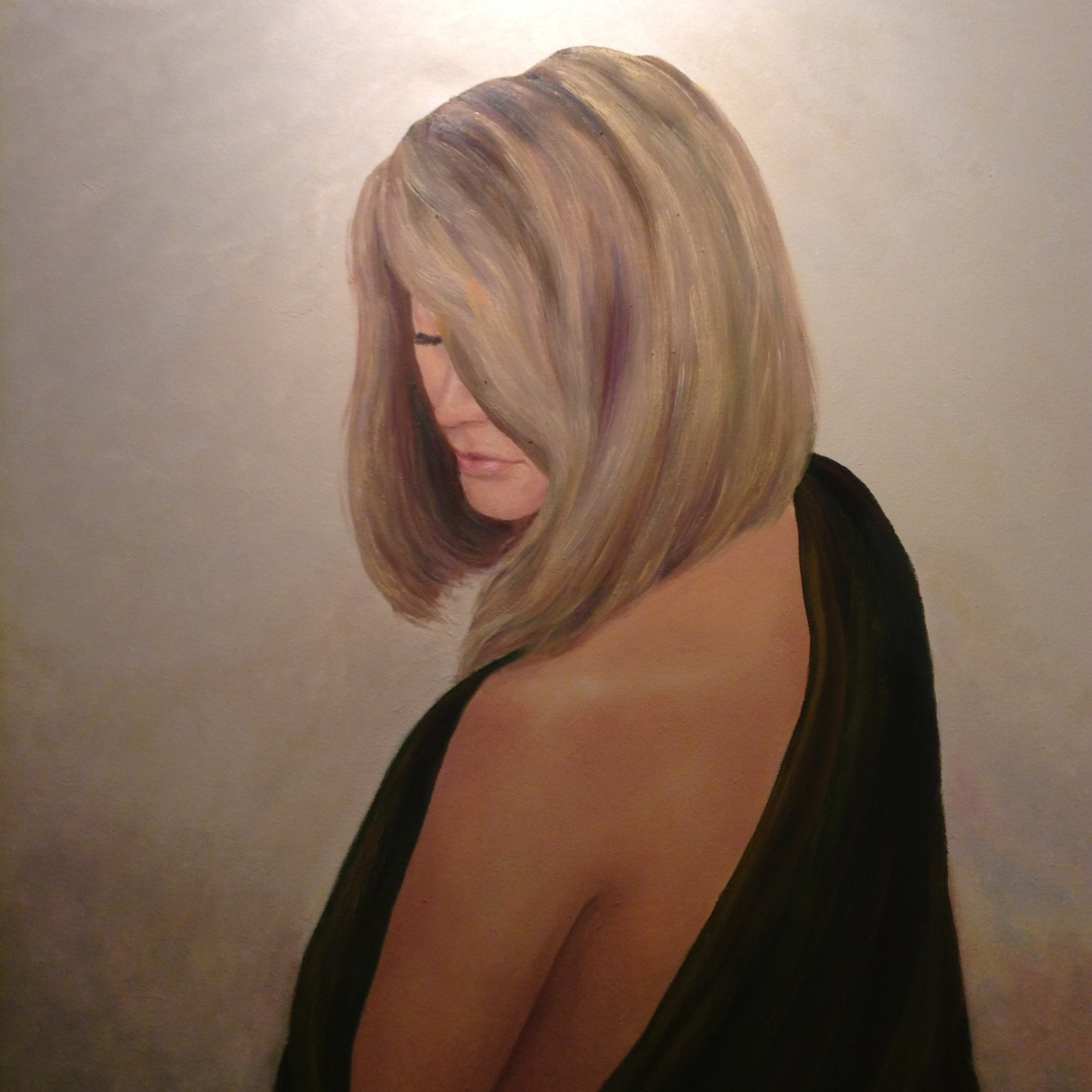 Pintura de la Núria