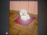Cuadro de Pepita Manzanares de la mascota Puppy
